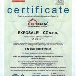 Мы получили сертификат ISO 9001:2009